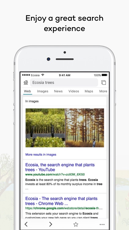 Ecosia screenshot-1