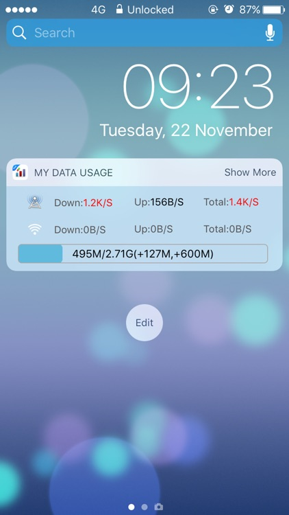 My Data Usage Widget Pro