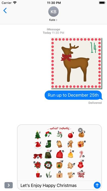 Christmas Advent Calendar Pack screenshot-4