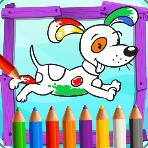Colorfly Coloring Books icon