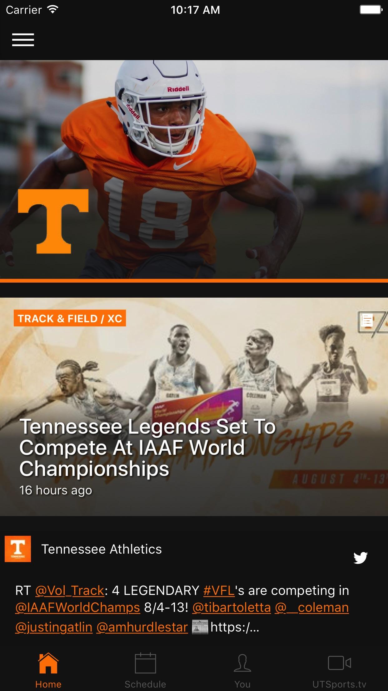 Tennessee Volunteers Screenshot