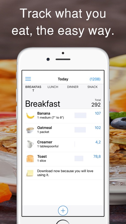iEatBetter: Food Diary