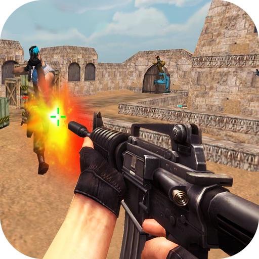 стрельба снайпер FPS - 3d шутер