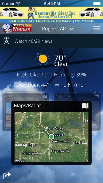 40/29 Weather