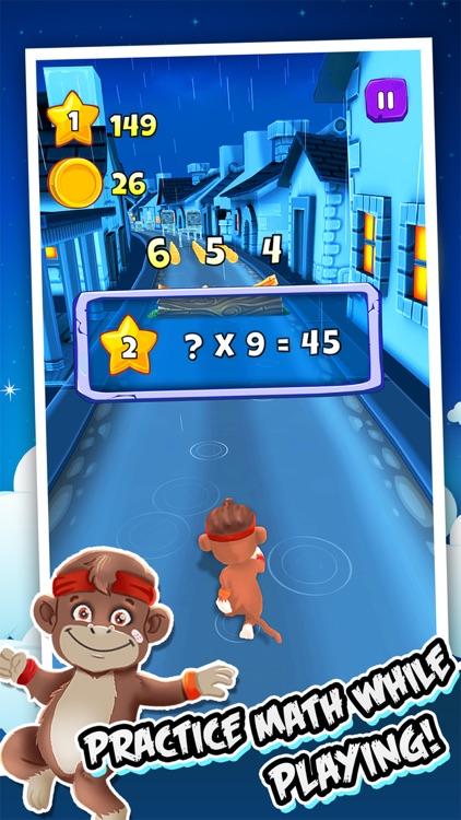 Toon Math Games & Endless Run screenshot-0