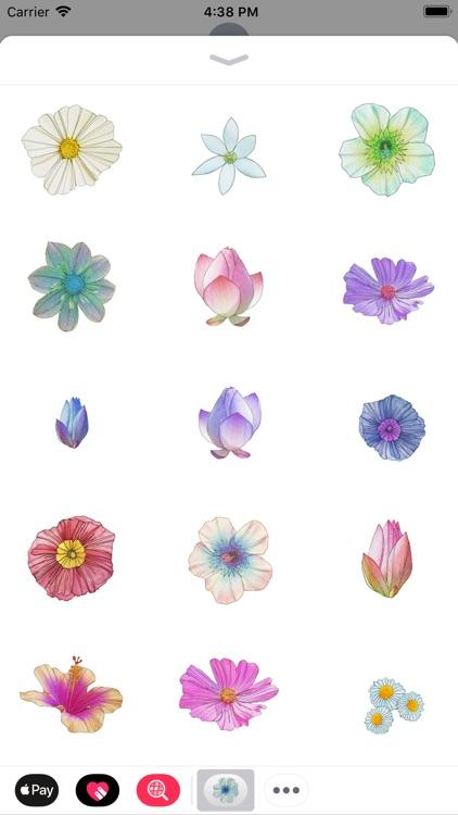 Flower Sticker Pack Vol.2