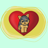 DogMoji -My Dog Emoji Stickers Icon