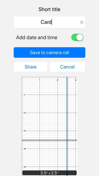Screenshot of Ruler 2.0 App