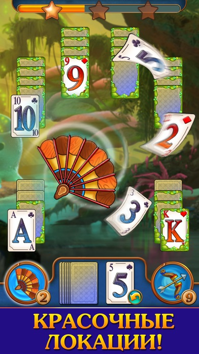 Magic Tri Peaks Solitaire Скриншоты6
