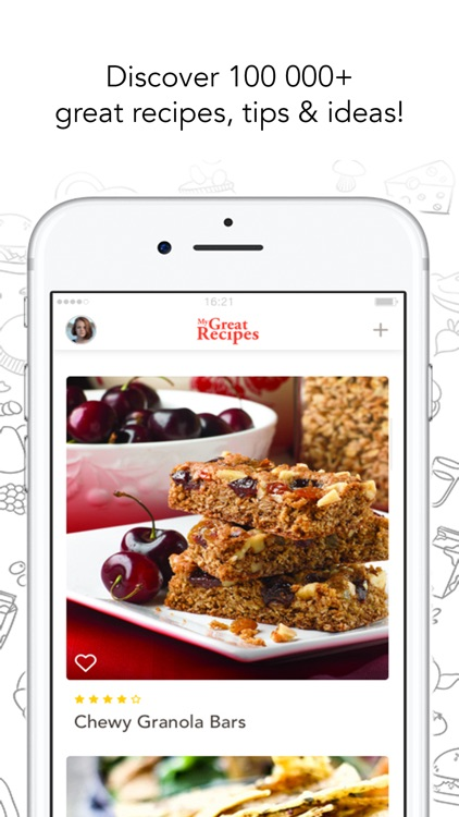 MyGreatRecipes! screenshot-0
