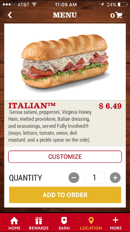 Firehouse Subs App screenshot-1