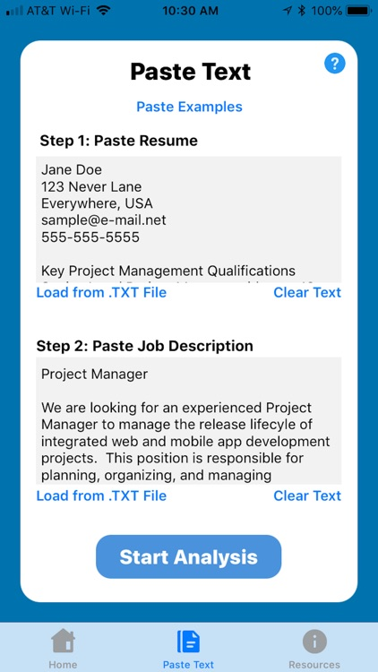 Resume Search Optimizer