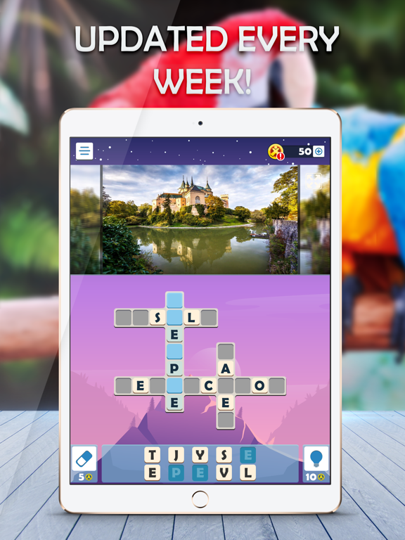 Puzzle Club: Jumble Crosswords screenshot 8