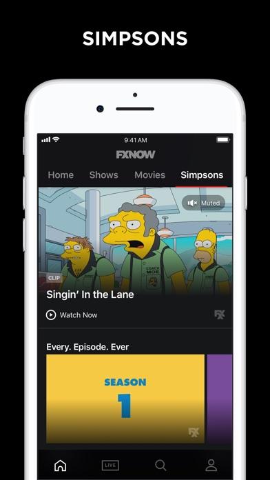 Fxnow Movies Shows Live Tv Screenshot