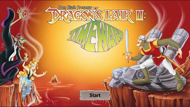 Dragon's Lair 2: Time Warp screenshot-0