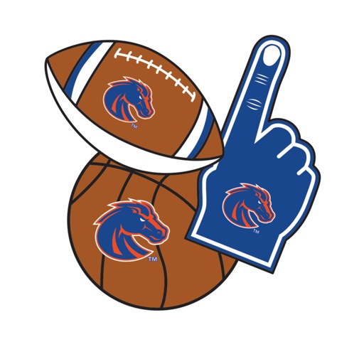 Boise State Broncos Selfie Stickers