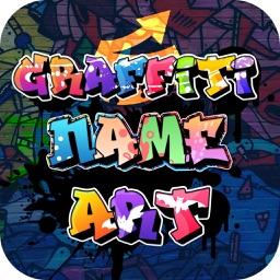 Graffiti Text Name Art