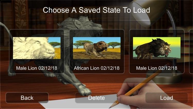 Lion Mannequin screenshot-9