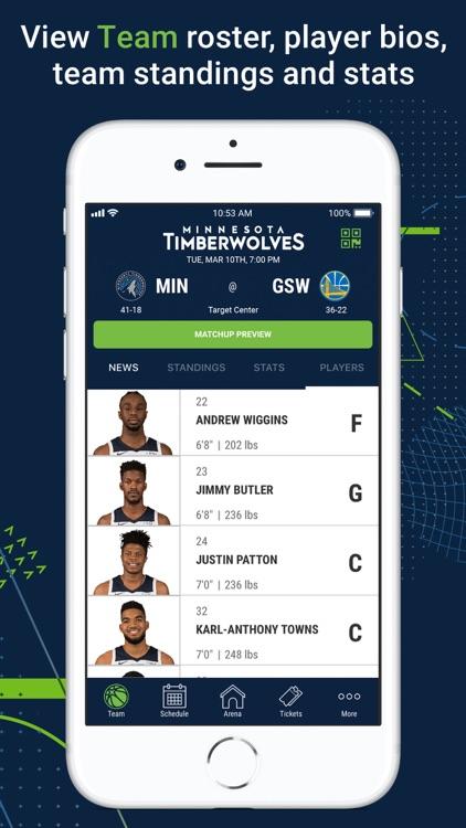 Minnesota Timberwolves screenshot-5