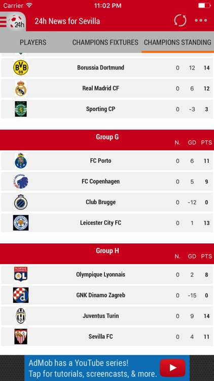 24h News for Sevilla FC screenshot-3