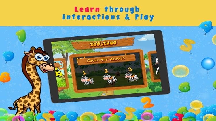 Preschool Zoo Puzzles Zoolingo screenshot-4
