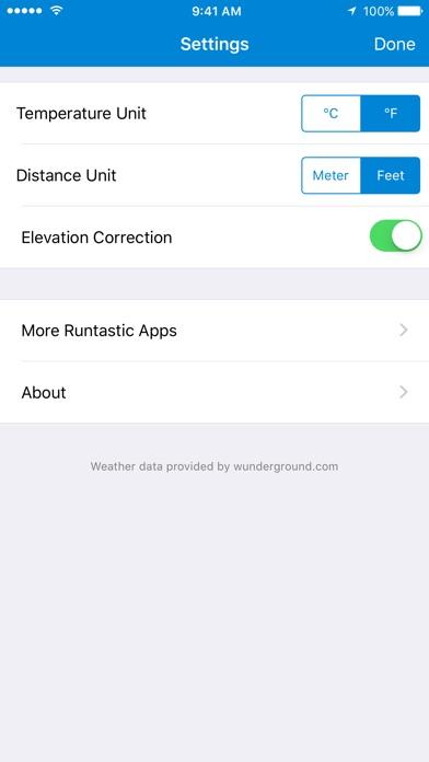runtastic Altimeter PRO with Weather & Compass Info Screenshot 4