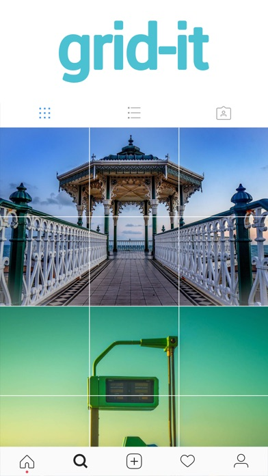grid-it - Instagram gallery tiles and grids Screenshot