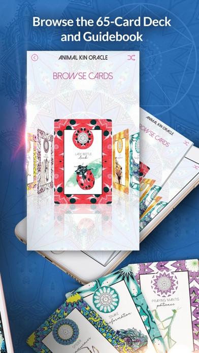 Animal Kin Oracle Cards screenshot 2