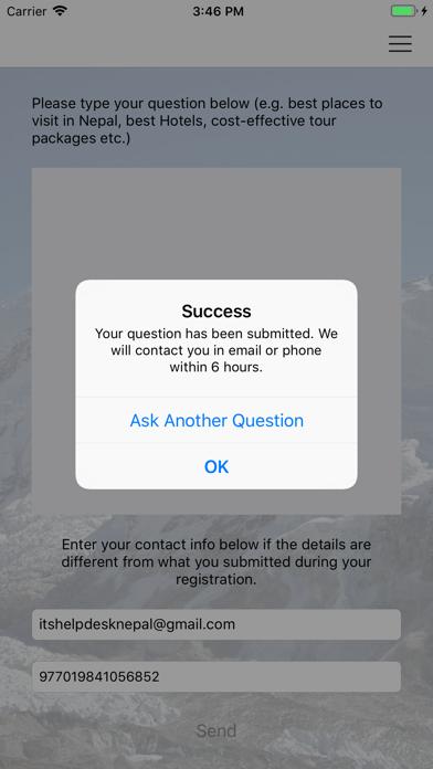 messages.download Nepal Travel Help Desk software