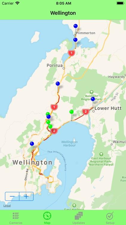 Wellington Traffic Cam screenshot-3