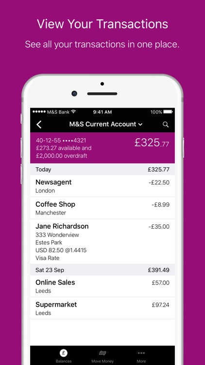 M&S Banking screenshot-2