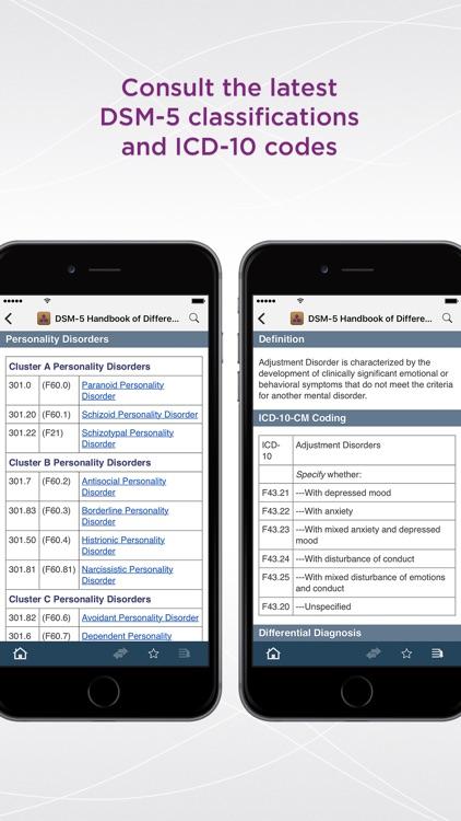 DSM-5™ Differential Diagnosis screenshot-4