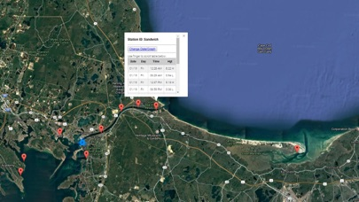 TIde Chart Cape Cod Screenshot