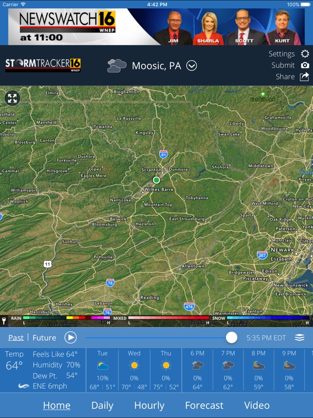 WNEP Stormtracker 16 Weather on the