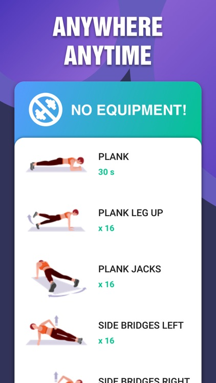 Fat Burning Plank Workout screenshot-3