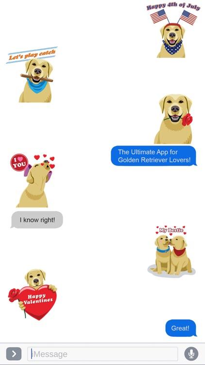 GoldenMoji Messenger screenshot-3