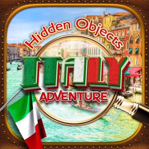 Hidden Objects Italy Spy Time