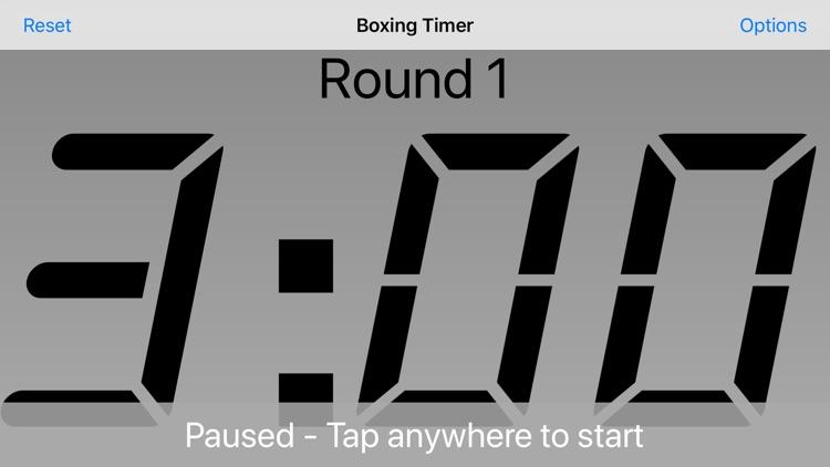 Boxing Timer screenshot-3
