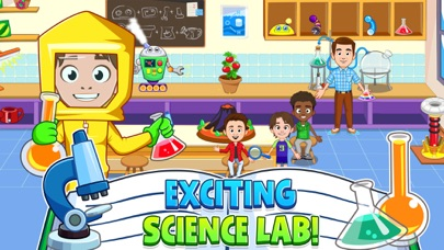 Screenshot for My Town : School in United States App Store