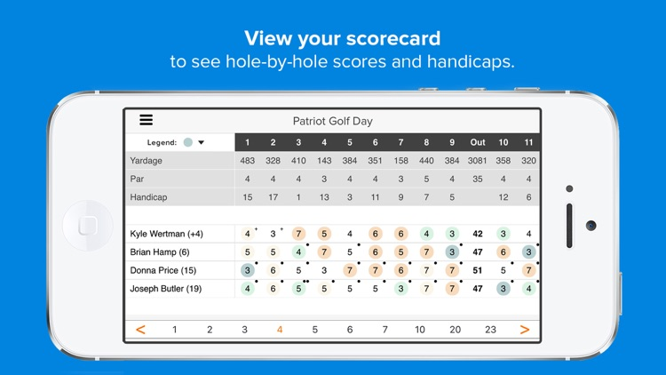 Golf Genius screenshot-2