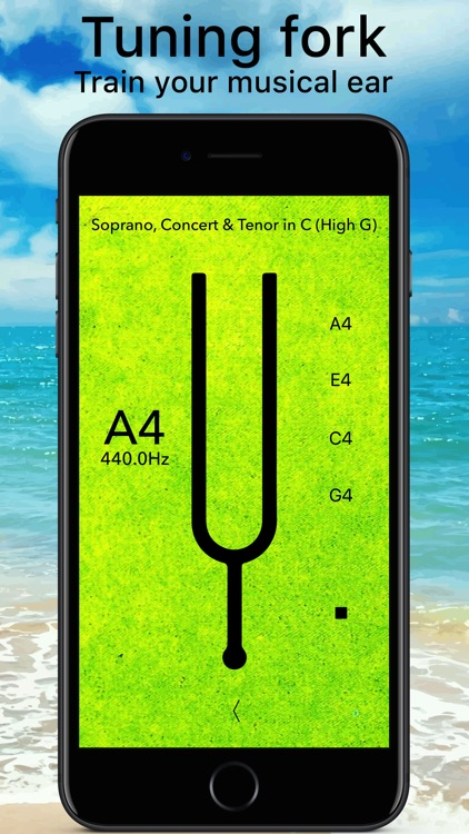 Ukulele Tuner Pro Advanced screenshot-2