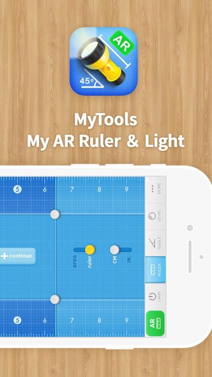MyTools · My AR Ruler & Light