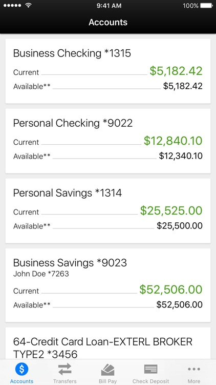 Quincy CU - Mobile Banking screenshot-1