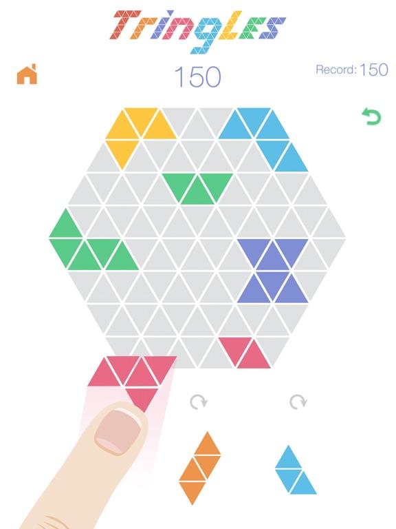 Скачать Треугольнички Tringles