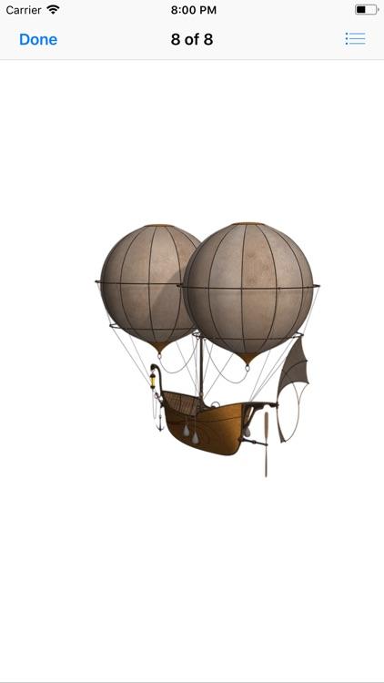 Vintage Hot Air Balloons screenshot-8