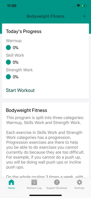 Bodyweight Fitness on the App Store