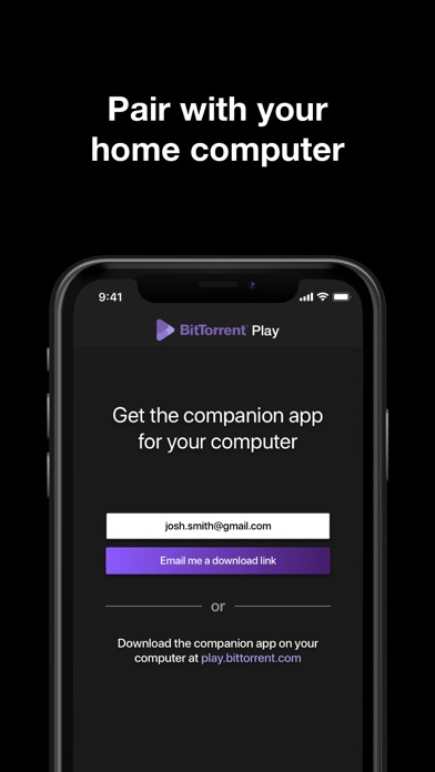 BitTorrent Play for Windows