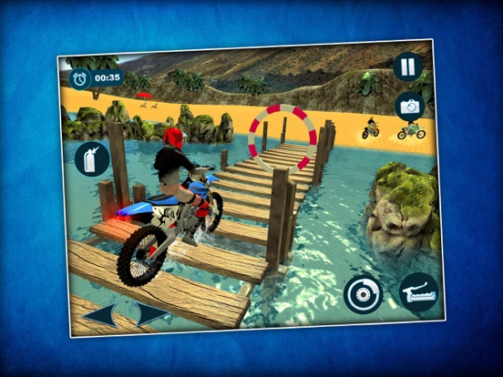 Waterbike Surfing Stunts 3D screenshot #1