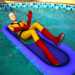Superhero Water Slider 2018
