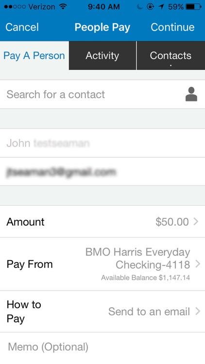 BMO Harris Mobile Banking screenshot-3